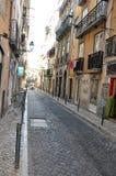 Descripción de Lisboa Foto de archivo