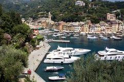 Descripción de Portofino Foto de archivo libre de regalías