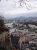 Descripción de Salzburg imagen de archivo