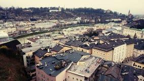 Descripción de Salzburg fotos de archivo