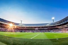 Descripción de Stadium de Kuip Feyenoord foto de archivo