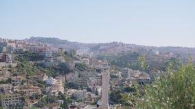 Descripción de una ciudad árabe en Israel metrajes