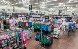 Descripción de una tienda de Walmart imagenes de archivo