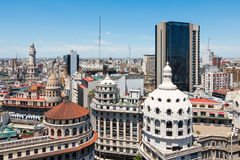 Descripción del centro de Buenos Aires Imágenes de archivo libres de regalías