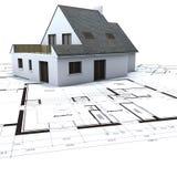 Descripción del complejo de viviendas ilustración del vector