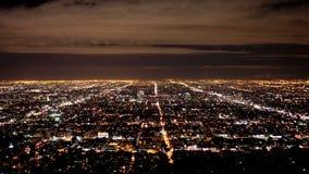 Descripción del lapso de tiempo de la rejilla de la ciudad de Los Ángeles - 4K - 4096x2304 metrajes