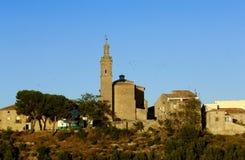 Descripción del pueblo de Sansol, Navarra, fotografía de archivo