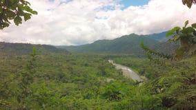Descripción del río Tena Ecuador de Mulatos almacen de metraje de vídeo