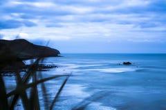Descripción maorí de la bahía Fotografía de archivo libre de regalías