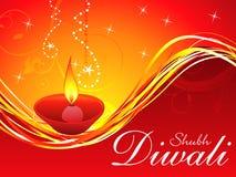 Descripteur abstrait de fond de diwali Images stock