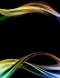 Descripteur coloré abstrait de conception illustration de vecteur