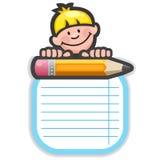 Descripteur d'école Image libre de droits