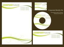Descripteur d'identité de corporation Photographie stock
