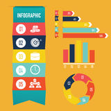 Descripteur d'Infographic Images stock