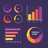 Descripteur d'Infographic Photo libre de droits