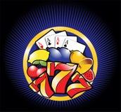 Descripteur de casino Photos stock