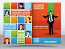 Descripteur de conception de brochure Image stock