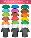 Descripteur de conception de T-shirt de couleur. Photographie stock