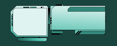 Descripteur de conception de Web - 03 - B Photos libres de droits