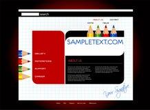 Descripteur de site Web Image libre de droits
