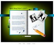 Descripteur de site Web Photo stock