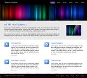 Descripteur de site Web d'affaires illustration de vecteur