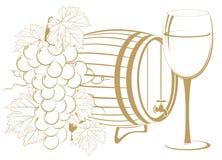 Descripteur de vinification Photos stock
