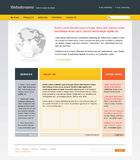 Descripteur Editable de site Web illustration stock