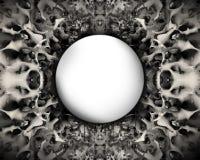 Descripteur foncé de texture Illustration de Vecteur