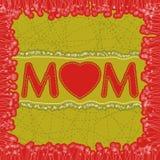 Descripteur heureux de dard du jour de mère. ENV 8 Photo stock