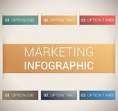 Descripteur/infographics doux modernes de conception de couleur Image stock