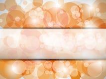 Descripteur orange Images libres de droits