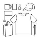 Descripteur pour des dessin-modèles d'affaires. Images stock