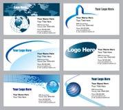 Descripteurs de carte de visite professionnelle de visite Images stock