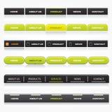 Descripteurs de navigation de Web Image libre de droits
