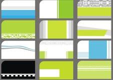 descripteurs de ramassage de carte de visite professionnelle de visite Image stock