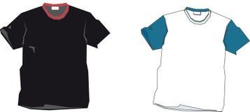 Descripteurs de T-shirt Photographie stock libre de droits