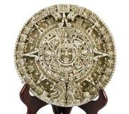 Description aztèque de calendrier image libre de droits