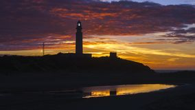 DescriptionCape Trafalgar Spanish: Cabo Trafalgar is a headland stock photo
