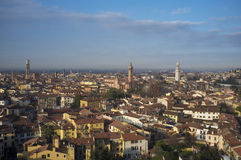 Vista panoramica di Verona Immagine Stock