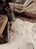 Desctop do vintage Imagem de Stock Royalty Free