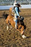 Descubra el montar a caballo posterior Imagenes de archivo