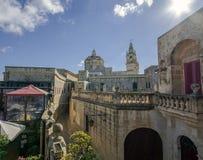 Descubra Malta - calles del mdina foto de archivo libre de regalías
