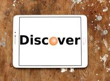 Descubra o logotipo foto de stock royalty free