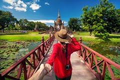 Descubra a Tailândia imagem de stock