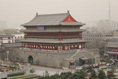 Descubrimiento de China: Torre del tambor de Xian Fotos de archivo