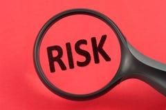Descubrimiento de concepto del riesgo Imagen de archivo libre de regalías