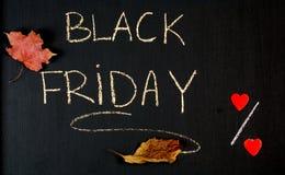 Descuentos de Black Friday Foto de archivo libre de regalías