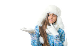 Descuentos del invierno Lugar para el texto Imagenes de archivo