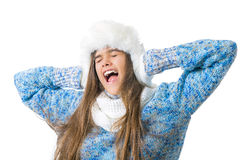 Descuentos del invierno Lugar para el texto Fotografía de archivo